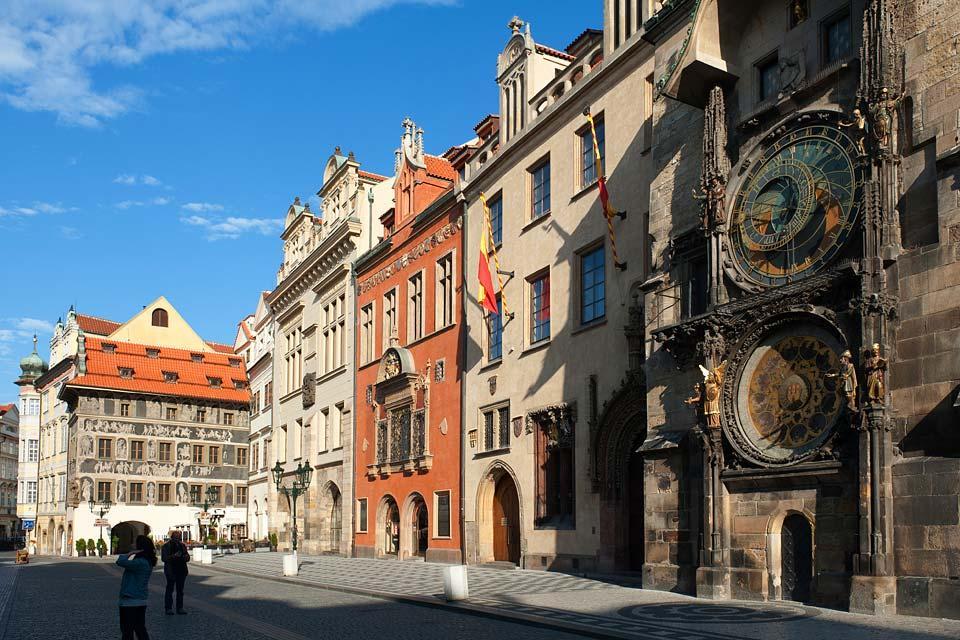 Tour de l'Hôtel de ville , L'horloge astronomique , République tchèque