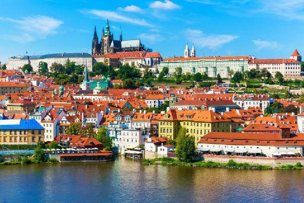 Le Château de Prague , Château et cathédrale St Guy , République tchèque