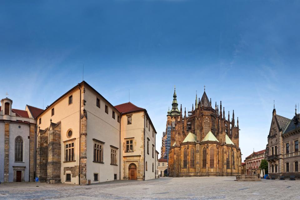 Le Château de Prague , Le plus grand château au monde , République tchèque