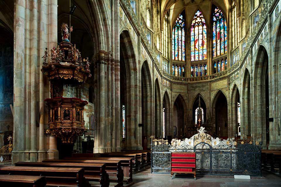 Le Château de Prague , La Cathédrale et ses trésors , République tchèque
