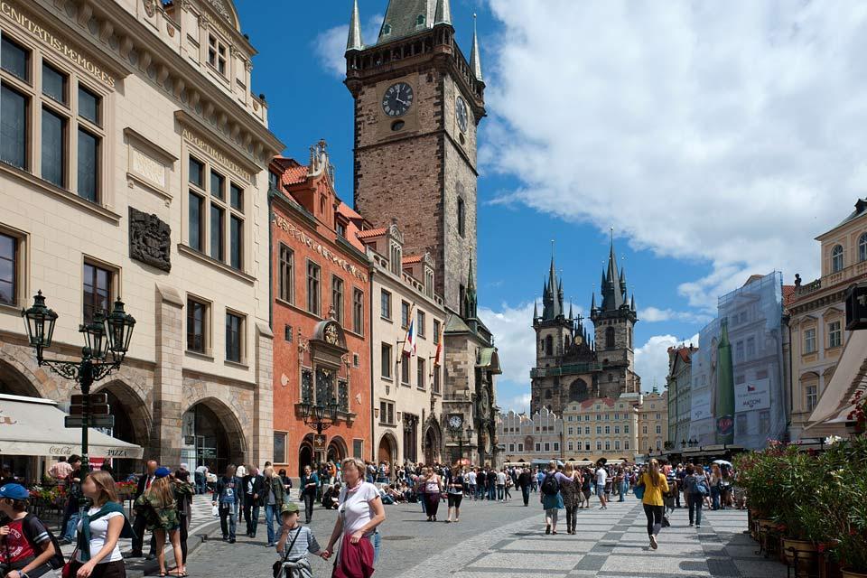 Place de la Vieille Ville , République tchèque