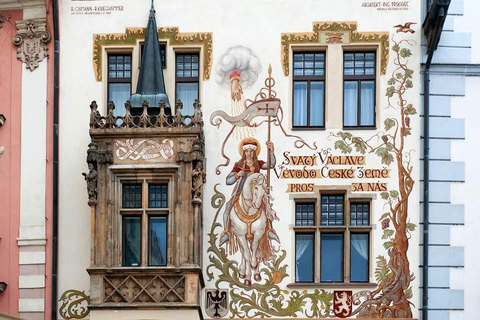 Place de la Vieille Ville , Saint Venceslas , République tchèque