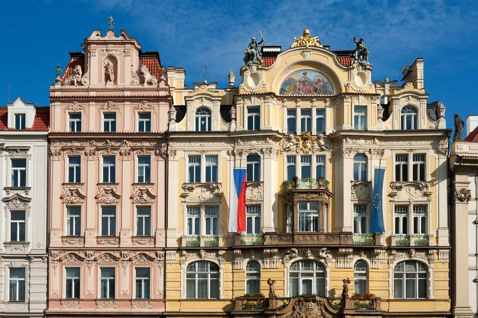Place de la Vieille Ville , L'architecture praguoise , République tchèque