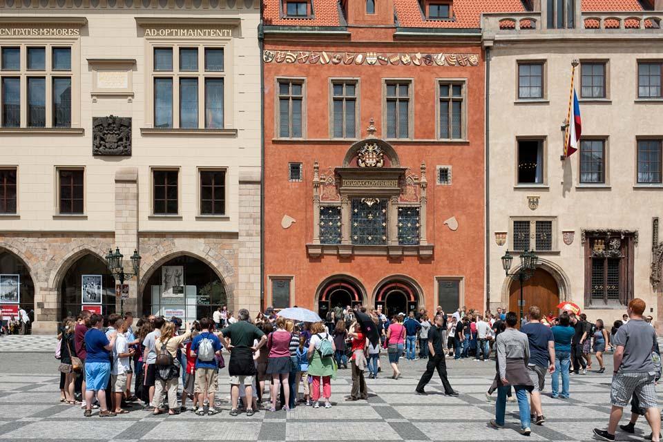 Place de la Vieille Ville , Notre Dame du Tyn , République tchèque