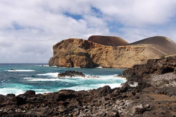 The beaches of São Miguel and Faial , Portugal