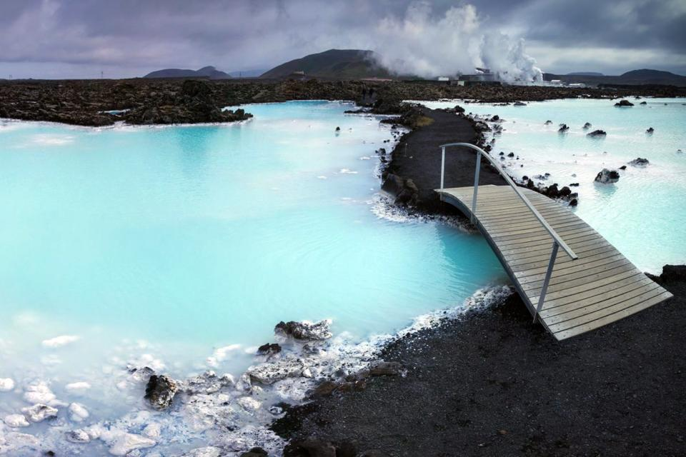 Le Blue Lagoon , Le Lagon Bleu , Islande