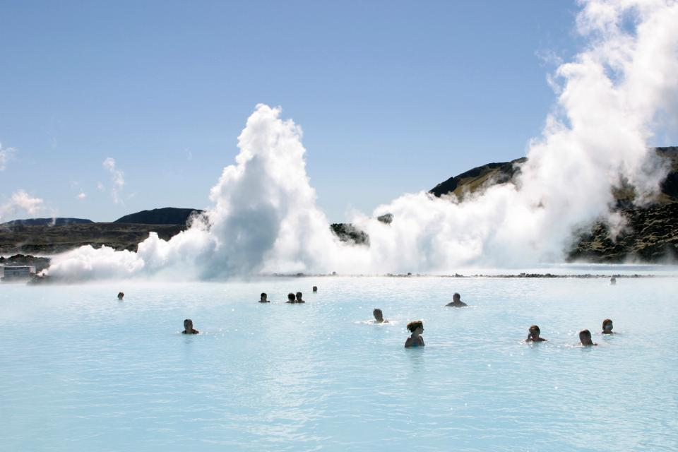 Le Blue Lagoon , Massages at the Blue Lagoon, Iceland , Iceland