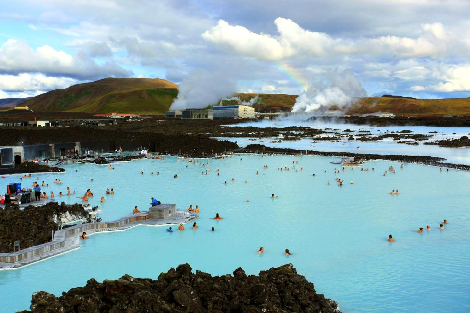 Le Blue Lagoon , Treatments at the Blue Lagoon, Iceland , Iceland
