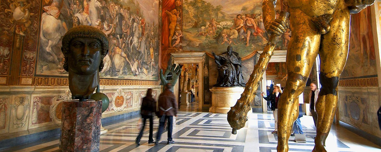 Die Museen von Rom , Die Kapitolinischen Museen , Italien
