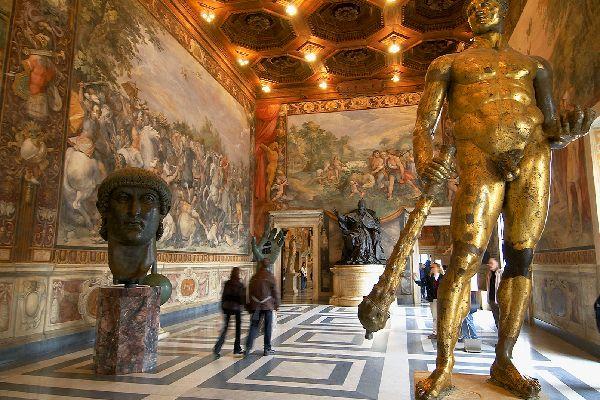Les musées de Rome , no title ! , Italie