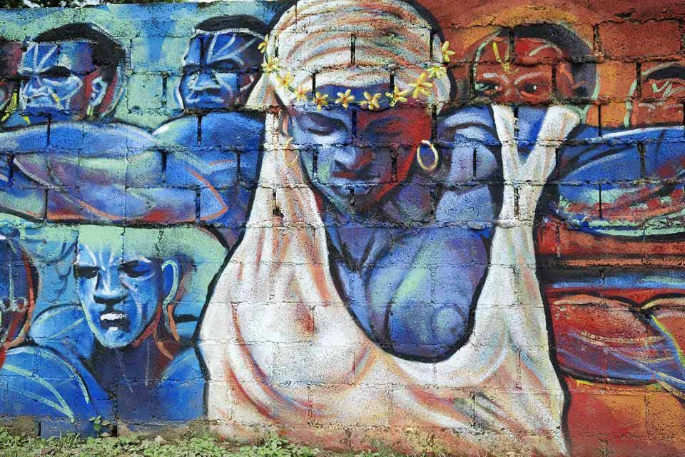 l'ancienne sucrerie de Boca de Nigua , Femme esclave , République dominicaine