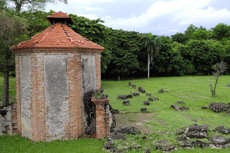l'ancienne sucrerie de Boca de Nigua , Un site historique , République dominicaine