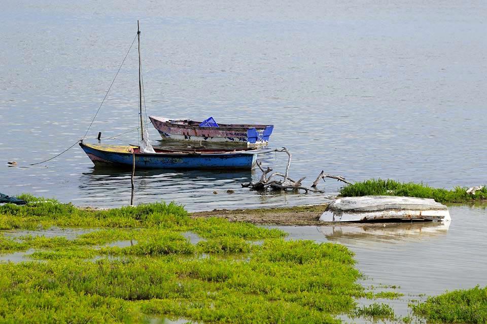 La lagune d'Oviedo , República Dominicana