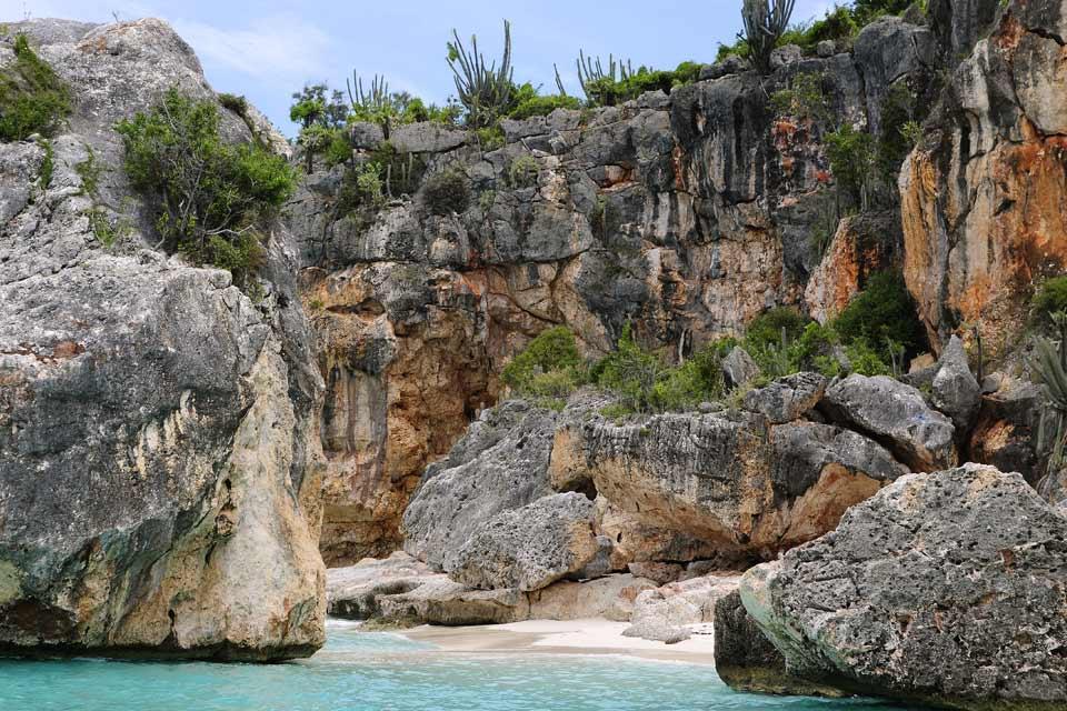 La plage de Bahia de las Aguilas , Un air de Thailande , République dominicaine