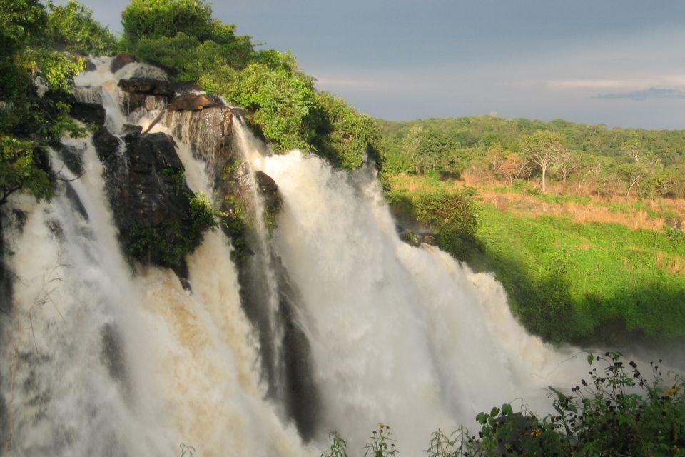 Las cascadas de Boali, Las cataratas de Boali, Los paisajes, República Centroafricana