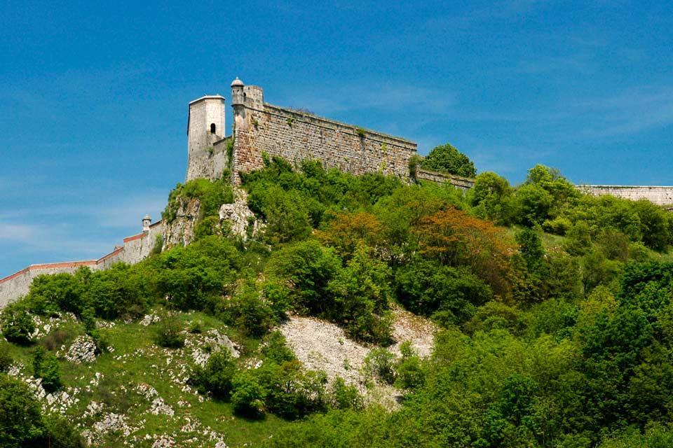 La citadelle de Besançon , France