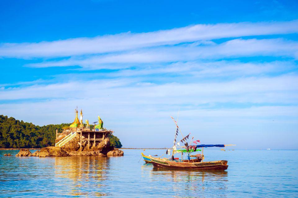 Les côtes, Myanmar, Ngapali, birmanie, asie, station, balnéaire, plage