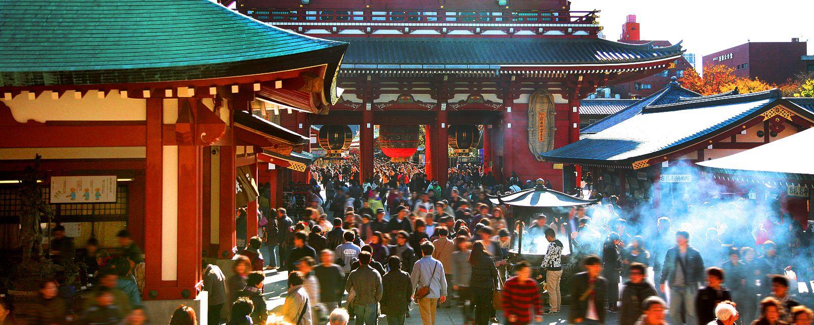 Sensô-Ji , Sensô-Ji temple , Japan