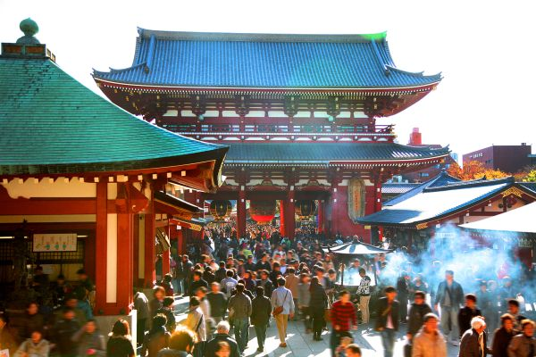 Sensô-Ji , El templo Senso-Ji , Japón