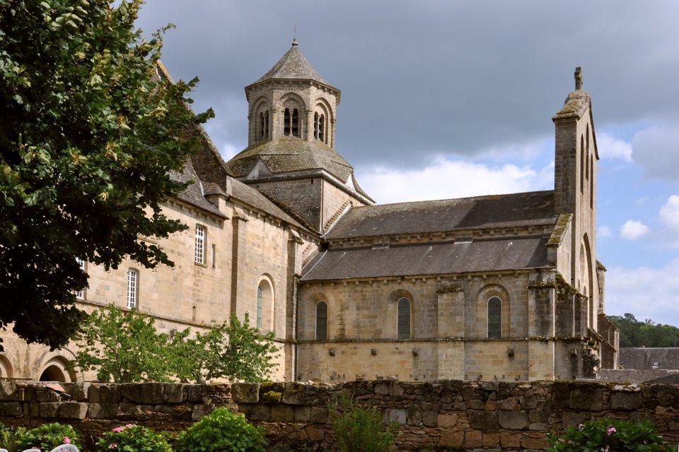 L'abbaye d'Aubazine , France