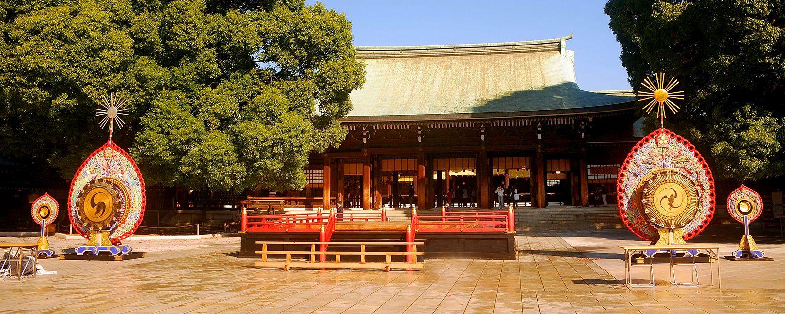 Meij , Il santuario Meiji-Jingu , Giappone