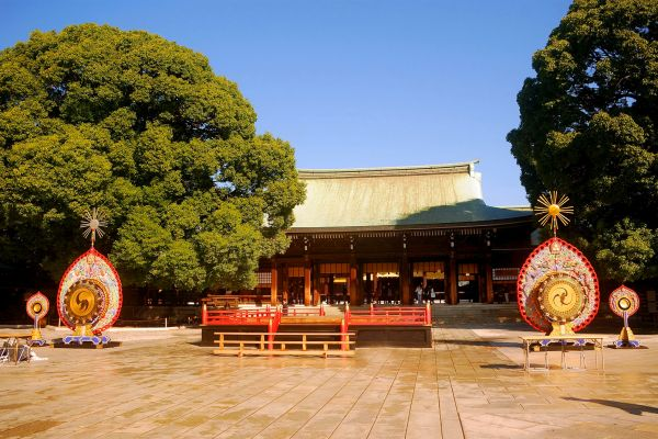 Meij , The Meiji-Jingu Sanctuary , Japan