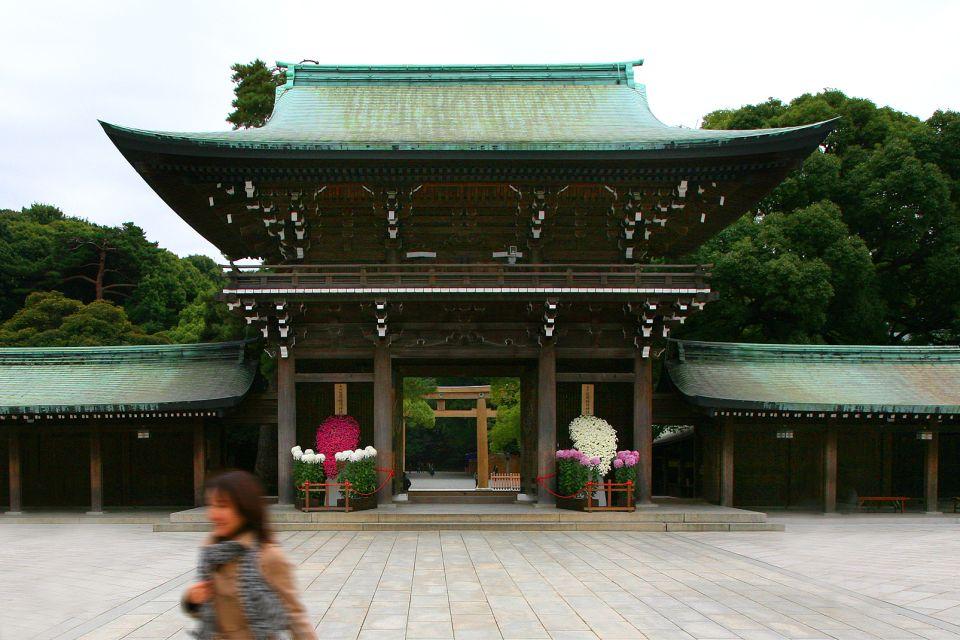 TOKYO- Meiji Jingu , Le Meiji-Jingu, un temple nature , Japon