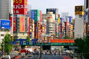 Shinjuku, Tokyo , The Shinjuku district , Japan