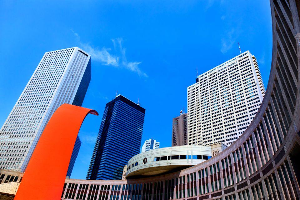TOKYO-Shinjuku , Nishi-Shinjuku, quartier des gratte-ciel , Japon