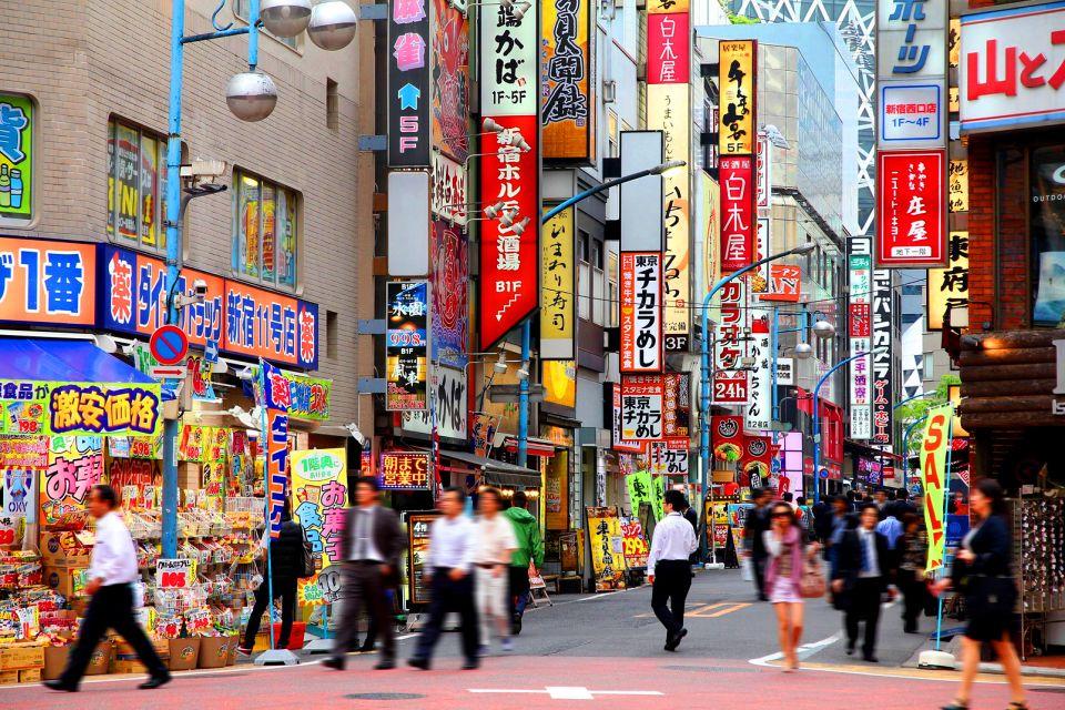 TOKYO-Shinjuku , L'empire des signes , Japon