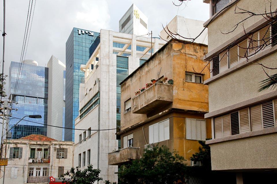Tel Aviv- Le patrimoine Bauhaus , Un cocktail architectural hétéroclite , Israël