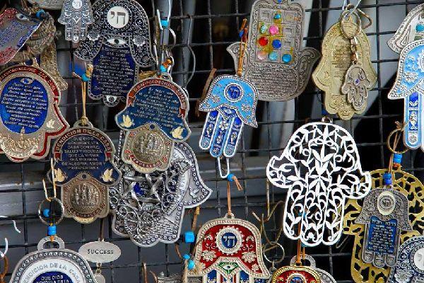 Le marché aux puces de Jaffa , Israele
