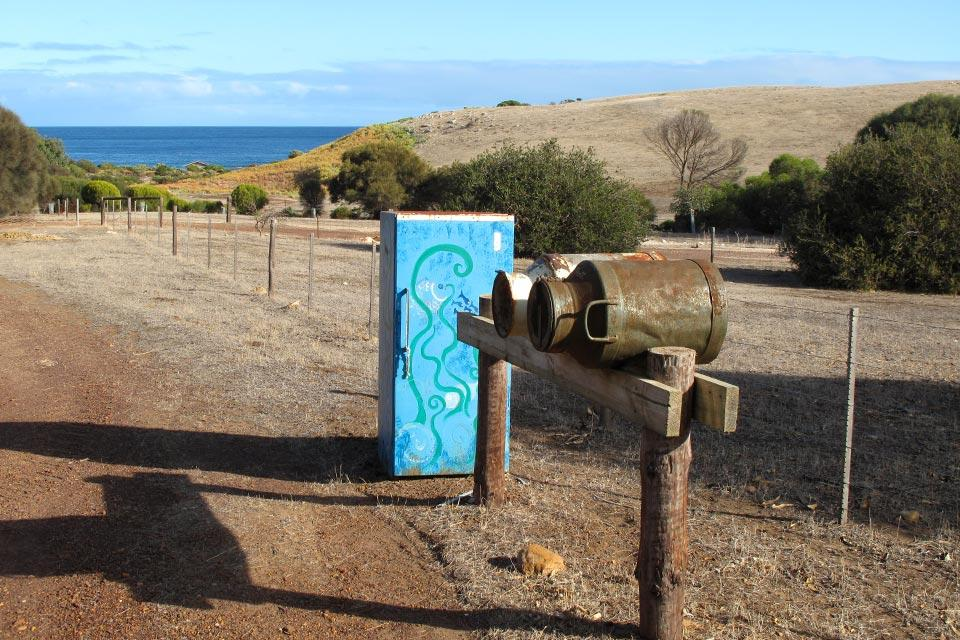 Kangaroo Island , Les boîtes aux lettres , Australie