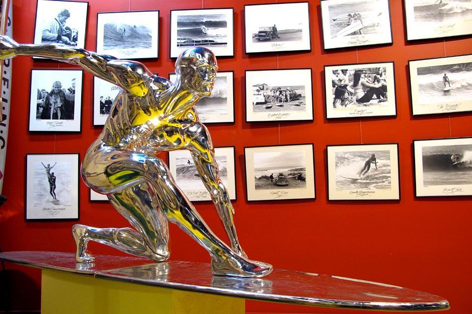 Le musée du surf à Torquay , Les murs du musée , Australie