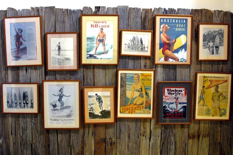 Le musée du surf à Torquay , Les affiches , Australie