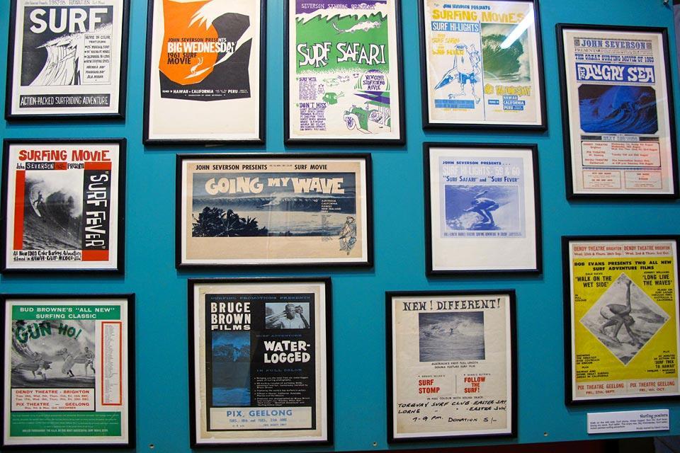 Le musée du surf à Torquay , Le rendez-vous des surfeurs , Australie