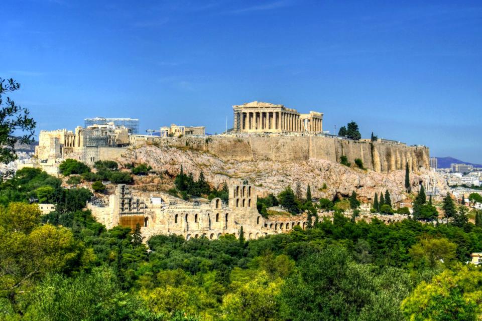L'Acropole d'Athènes , Grèce