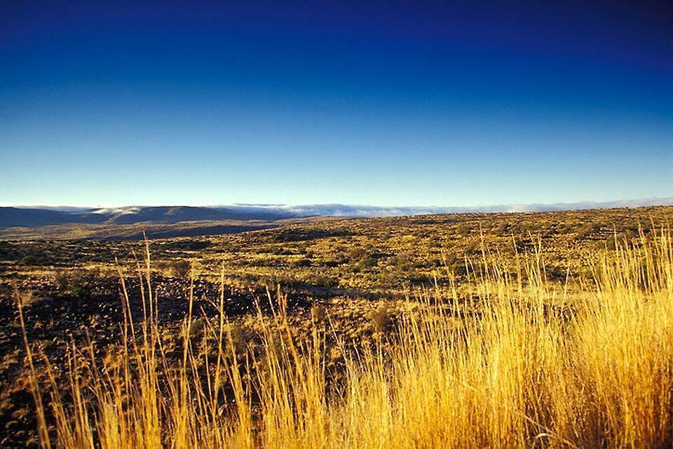 Il Parco naturale del Karoo , Geografia del parco del Karoo , Sudafrica