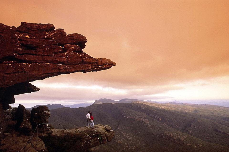 Grampians National Park , Les rochers des Grampians , Australie