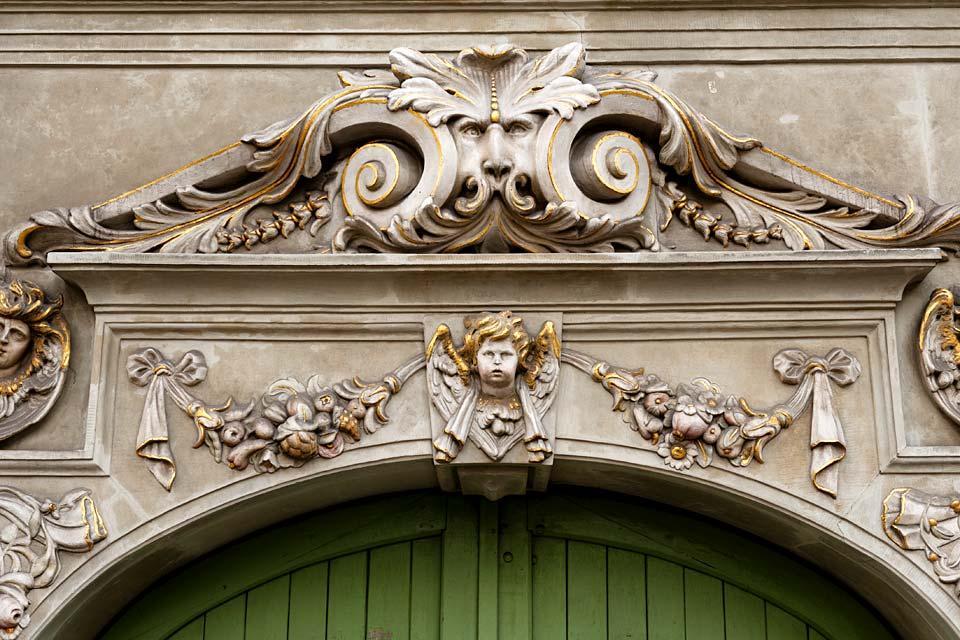 La chapelle royale de gdansk pologne for L architecture baroque