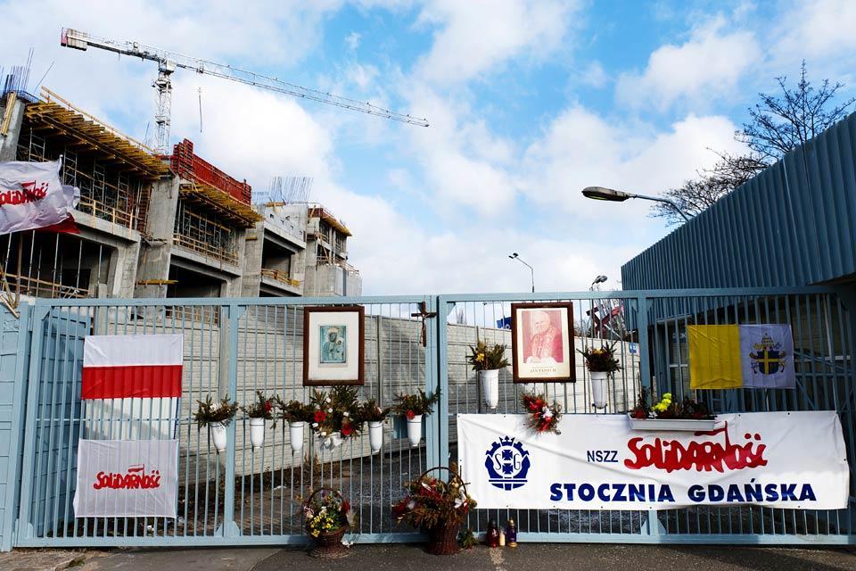 SGdansk , Solidarnosc e l'architettura comunista, I monumenti, Una vittoria contro il comunismo, Polonia