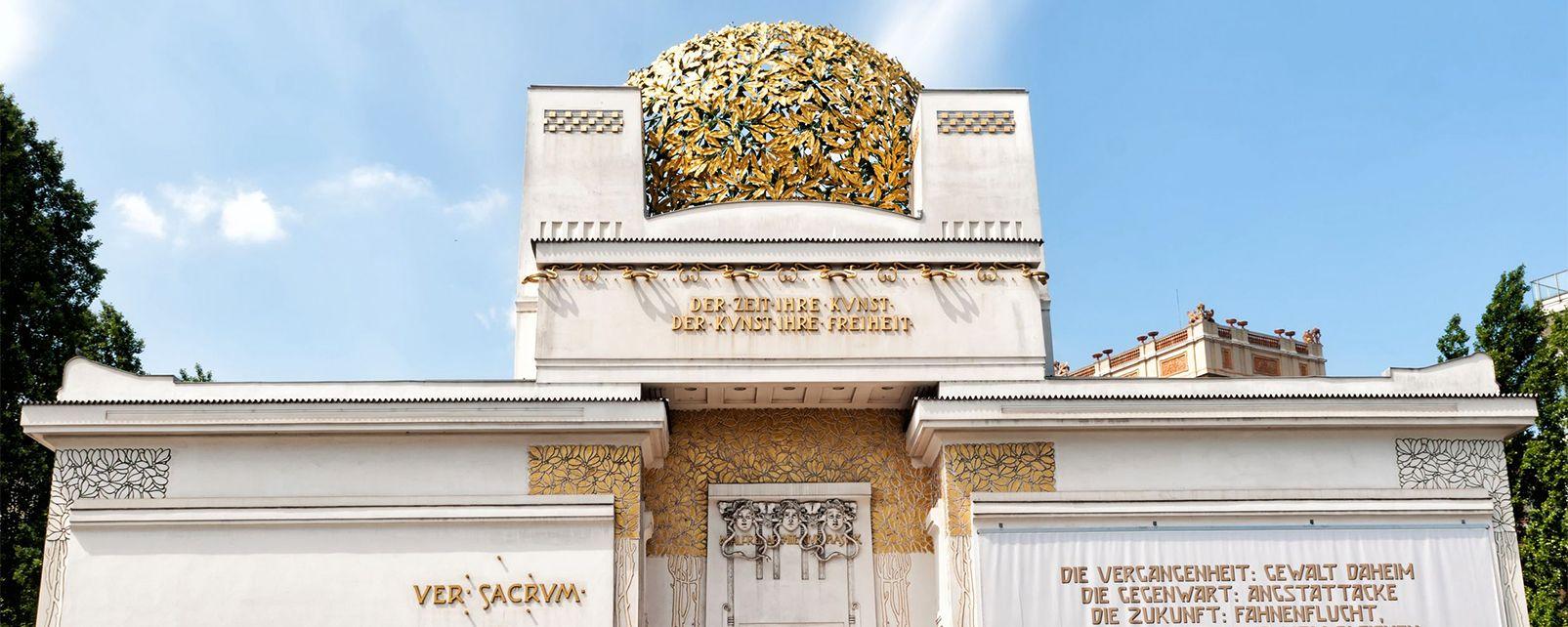 Pabellón de la Secesión, Secession, Los museos, Viena, Austria