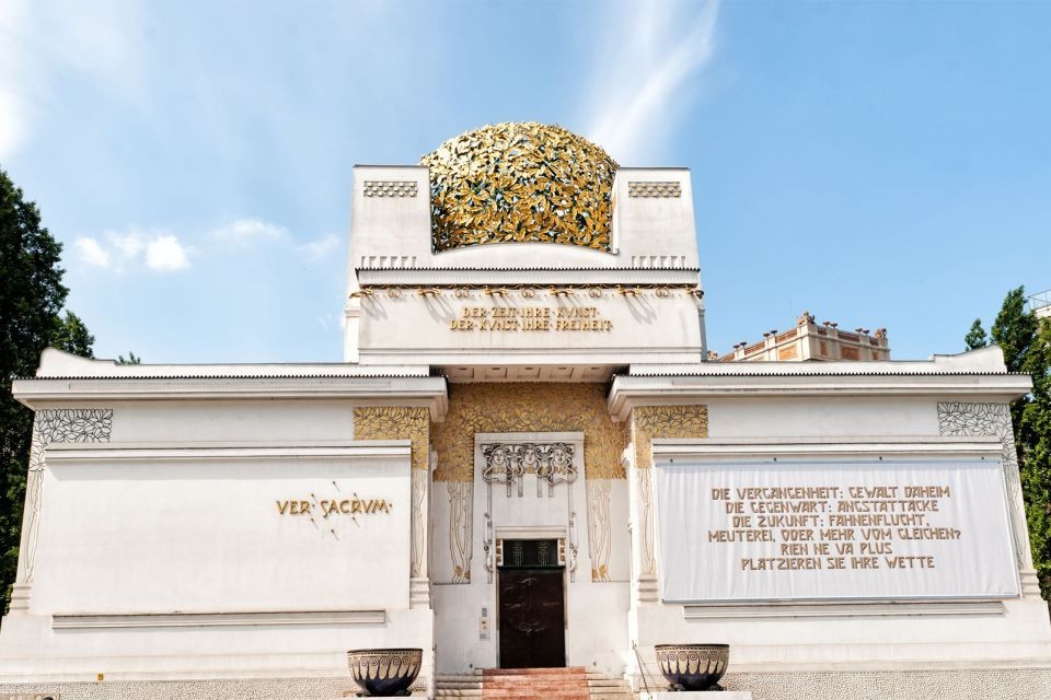 The Secession Palace, The Secession Hall, Museums, Vienna, Austria