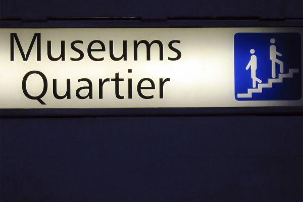 Die Museen, MQ  Museums Quartier Wien, Wien, Österreich