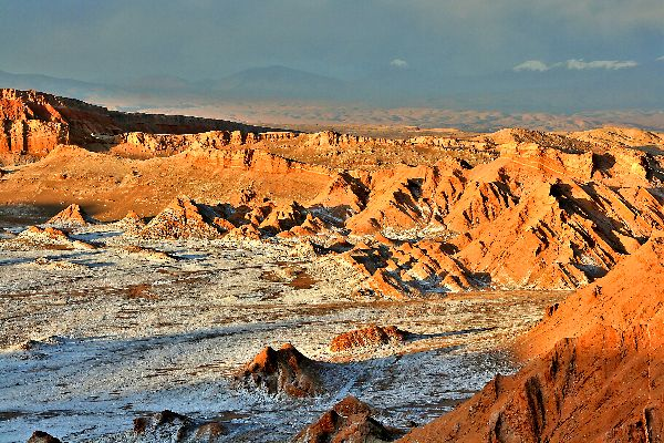 The desert , Chile