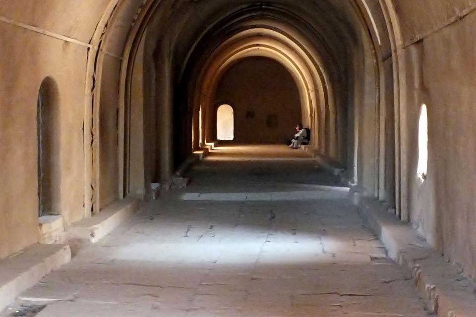 Le monastère Saint-Siméon , Egypte