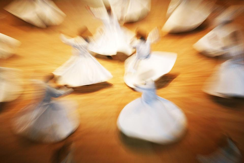 Les derviches tourneurs , Türkei