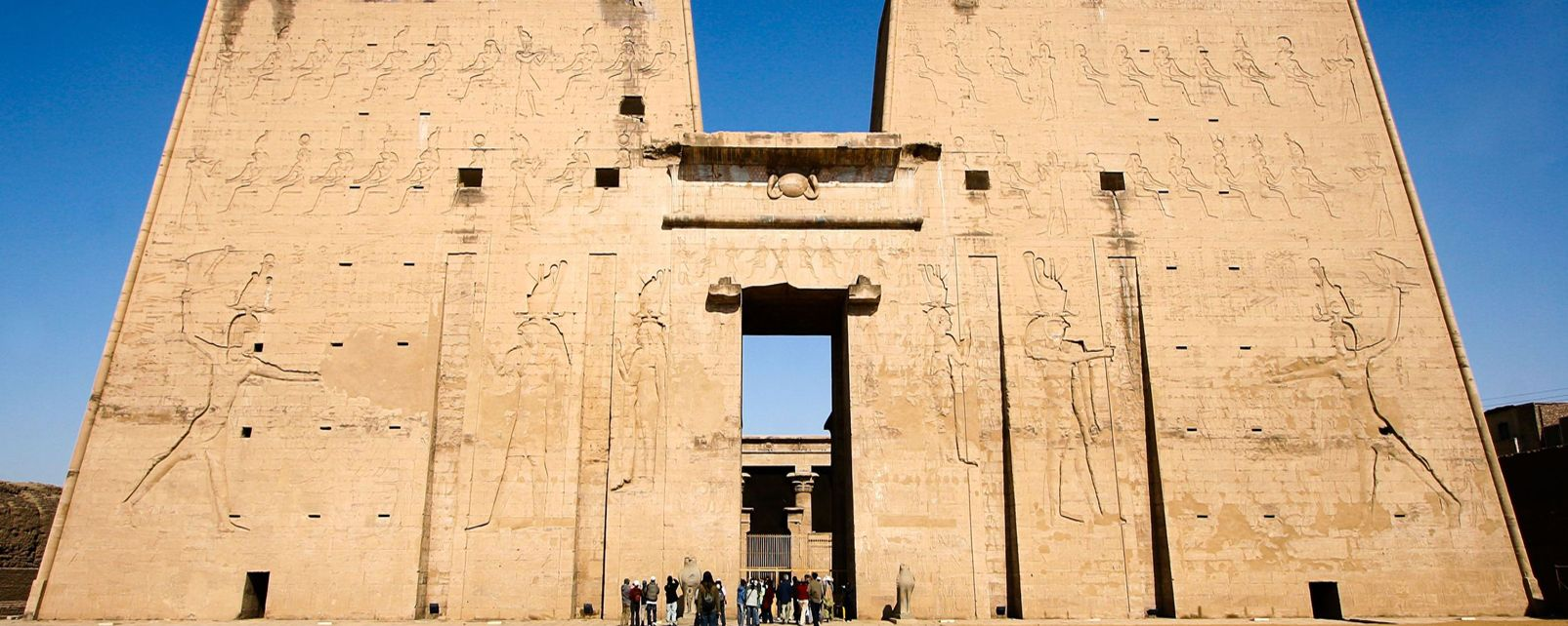 Temple d'Horus à Edfu, Edfu, Les sites, Egypte