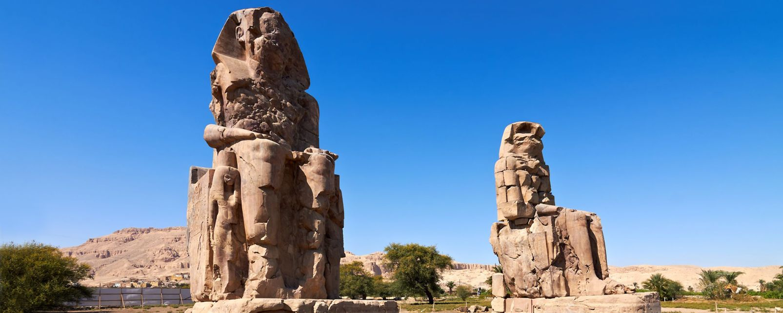 Hautes statues de la vallée des Rois, La vallée des Rois, Les sites, Egypte