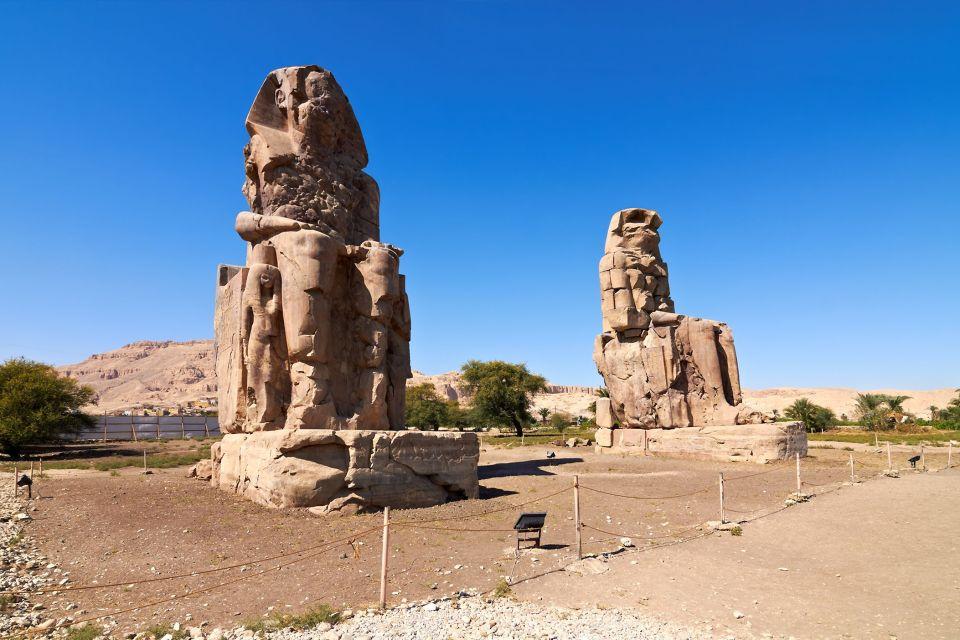 Alte statue della Valle dei Re, La Valle dei Re, I siti, Egitto